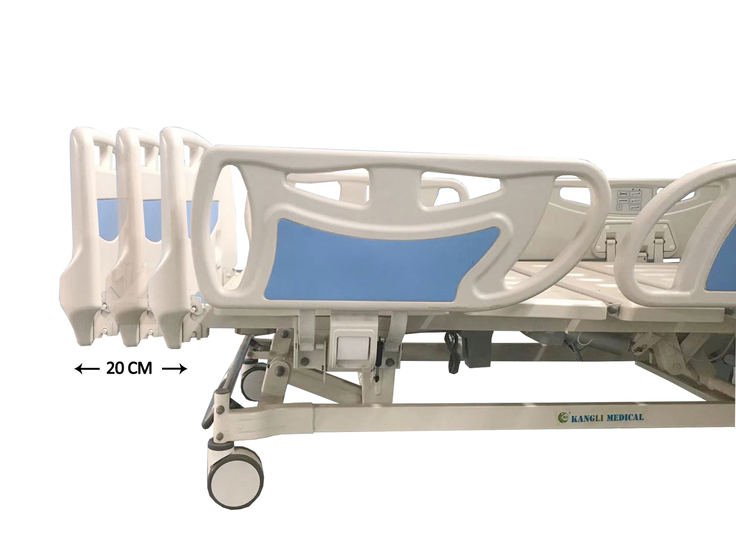 icu bed with length extension