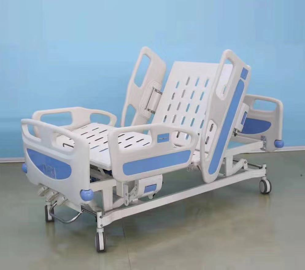 3 crank hospital bed auto position