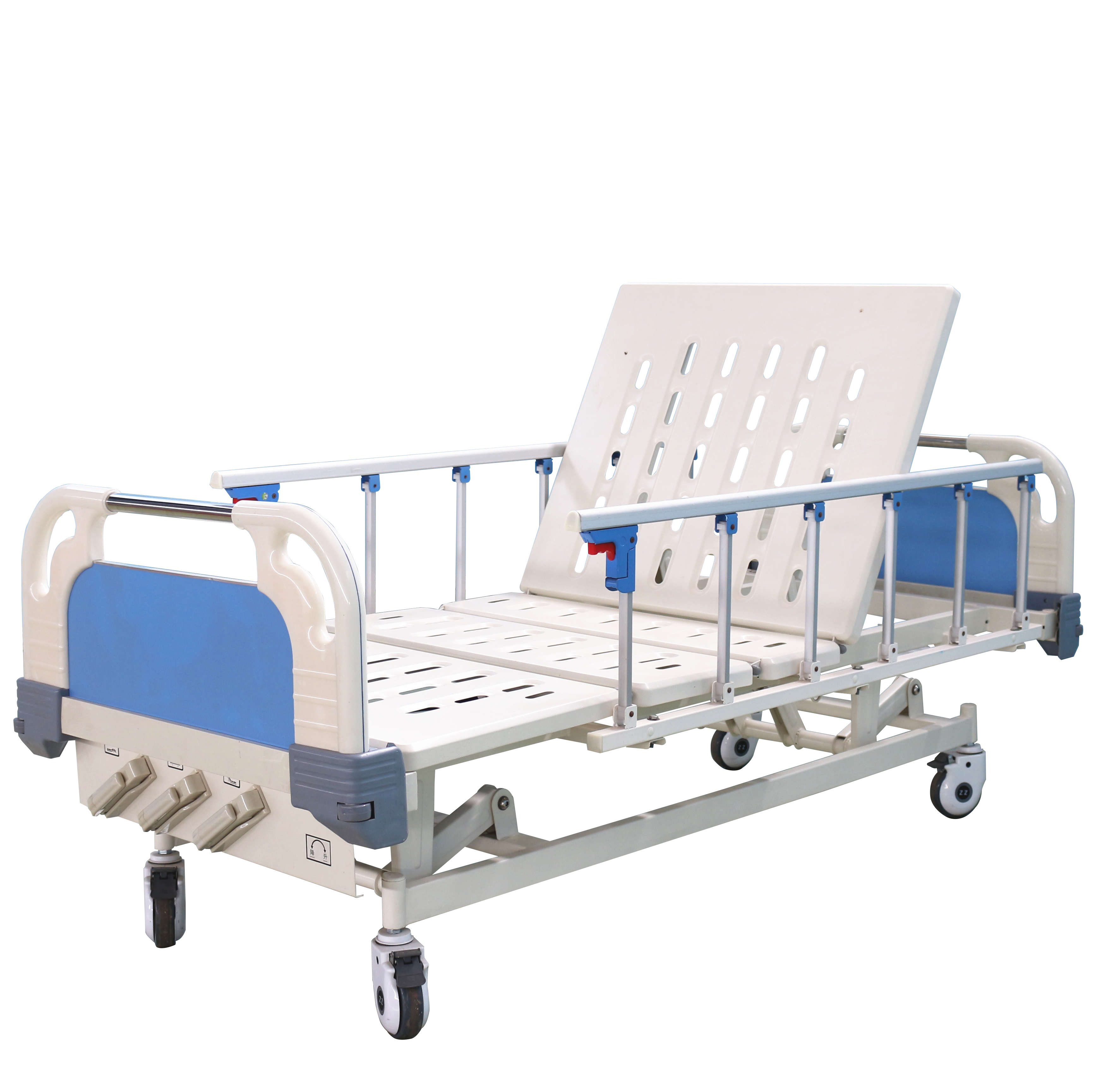 3 crank hospital bed for sale