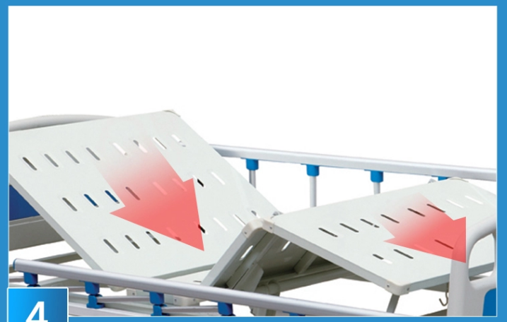 3 fucntion electric hospital Bed Frame