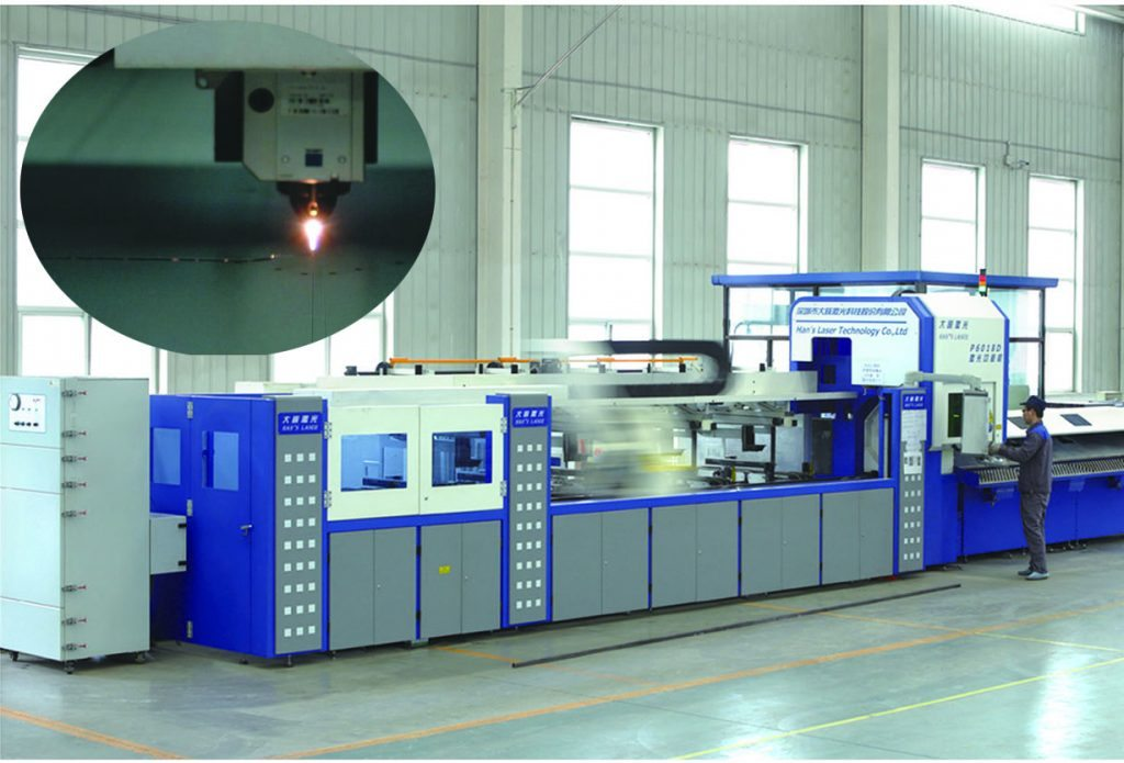 Hospital bed manufacture of pipe and metal sheet Laser cutting