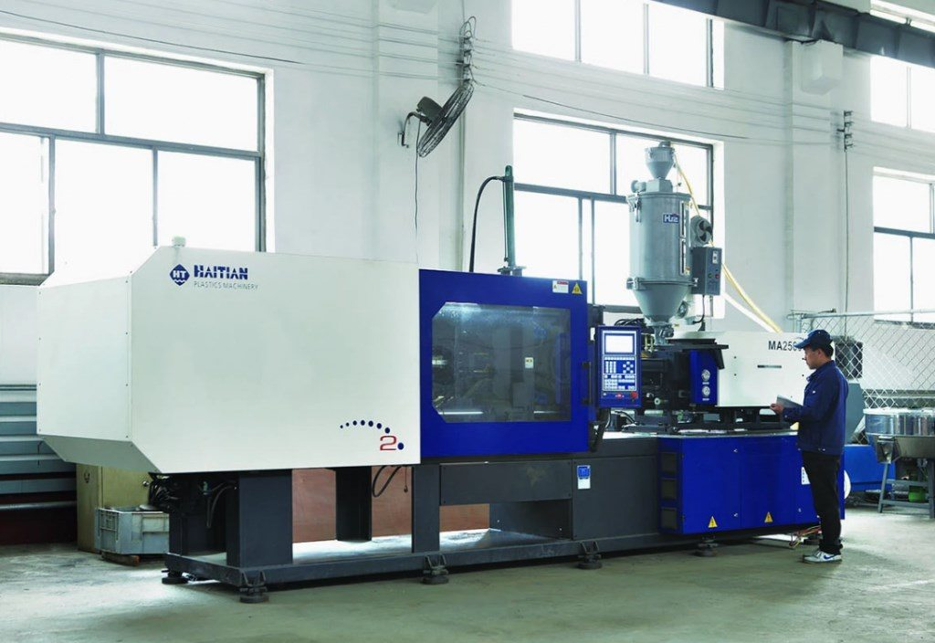 Hospital bed manufacturer process of injection molding machine