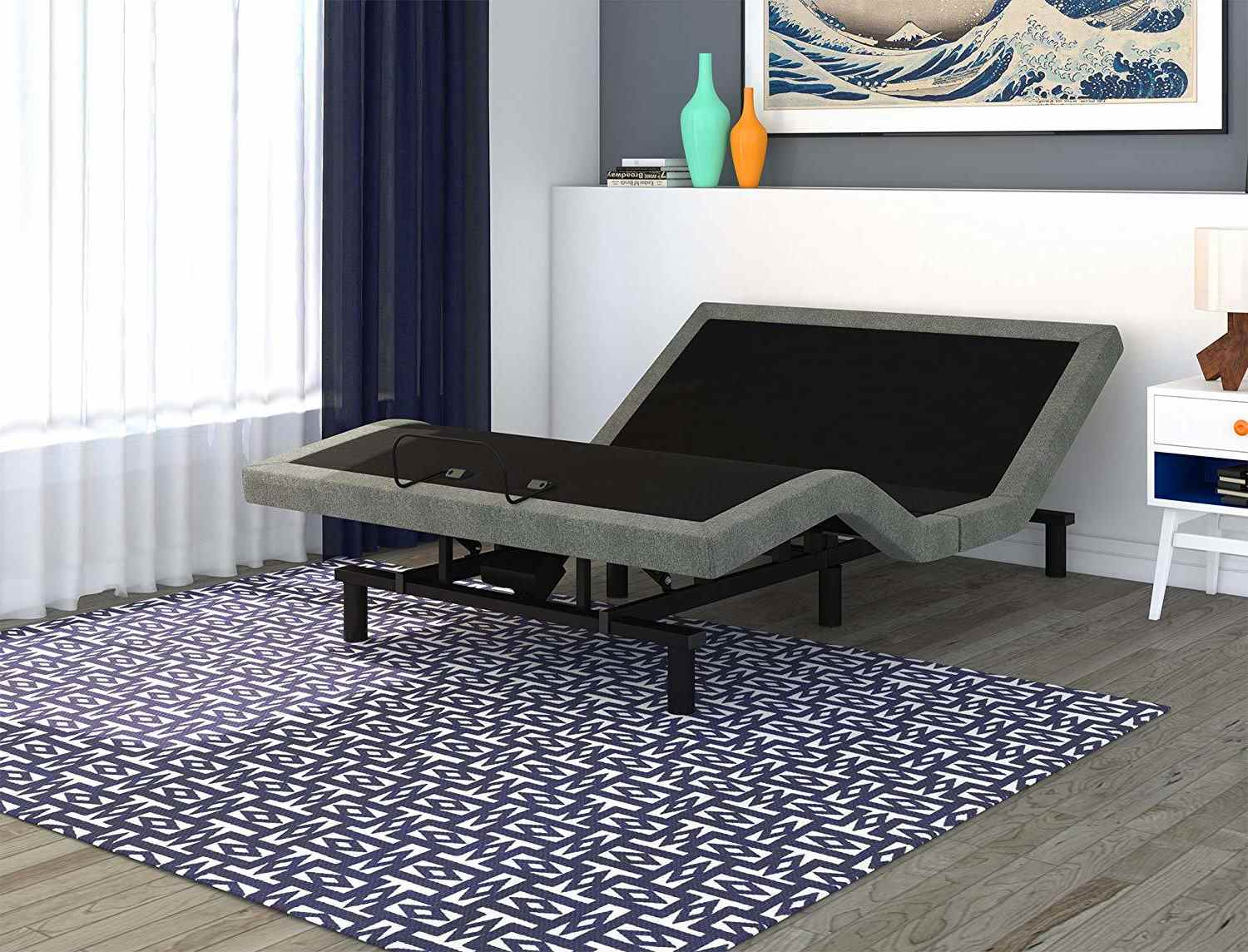 electric adjustable bed base for better sleeping