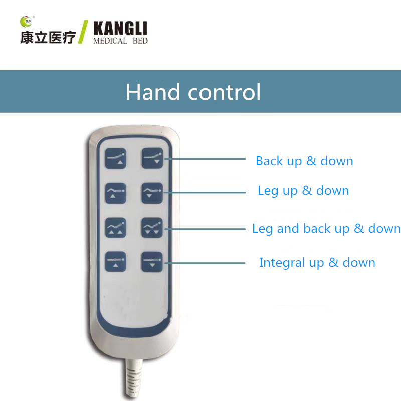 electric hospital bed controls