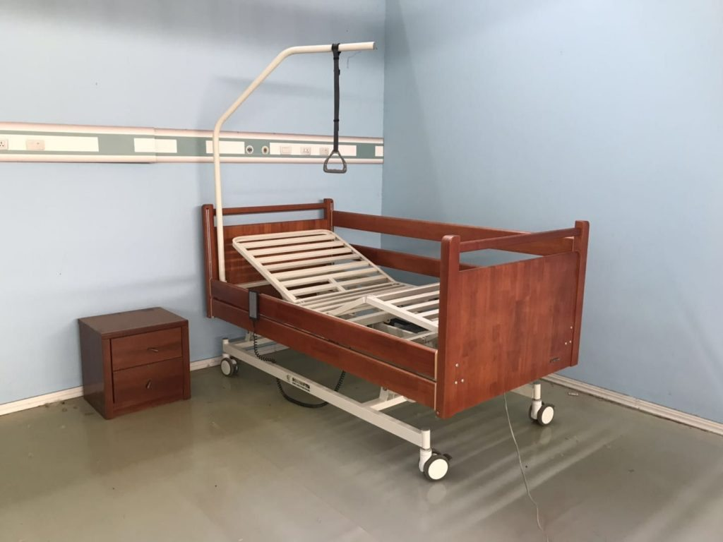 electric hospital style bed for home