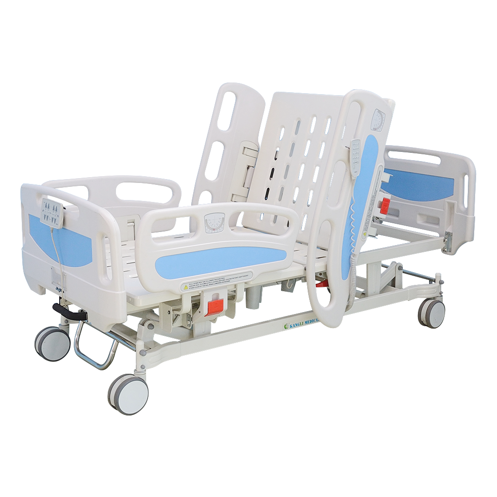 Trendelenburg hospital beds backrest