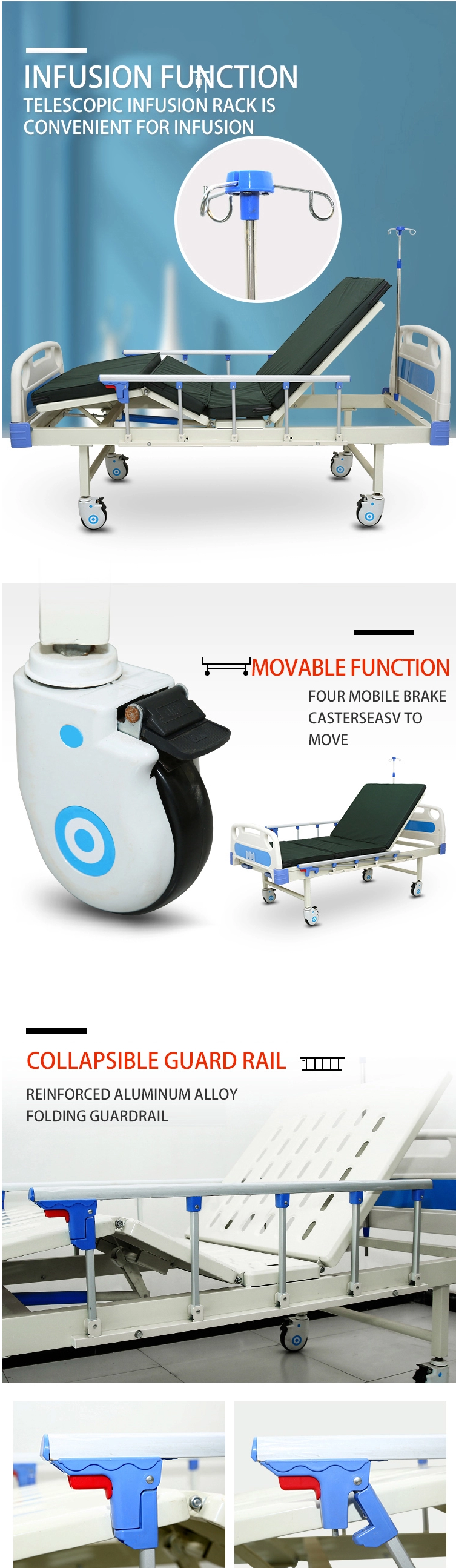 function of the hospital bed accessories