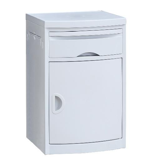 hospital bedside table with drawer