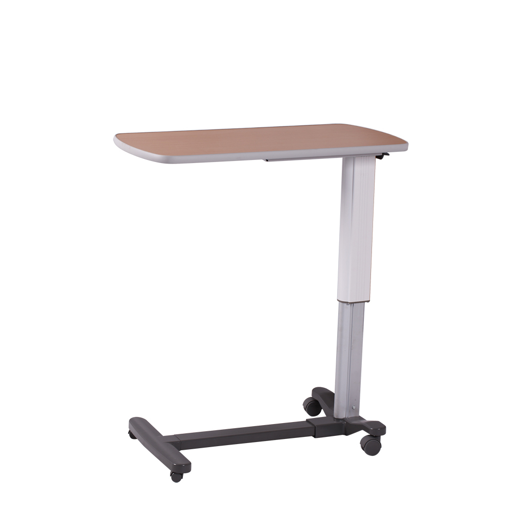 hospital tables over bed