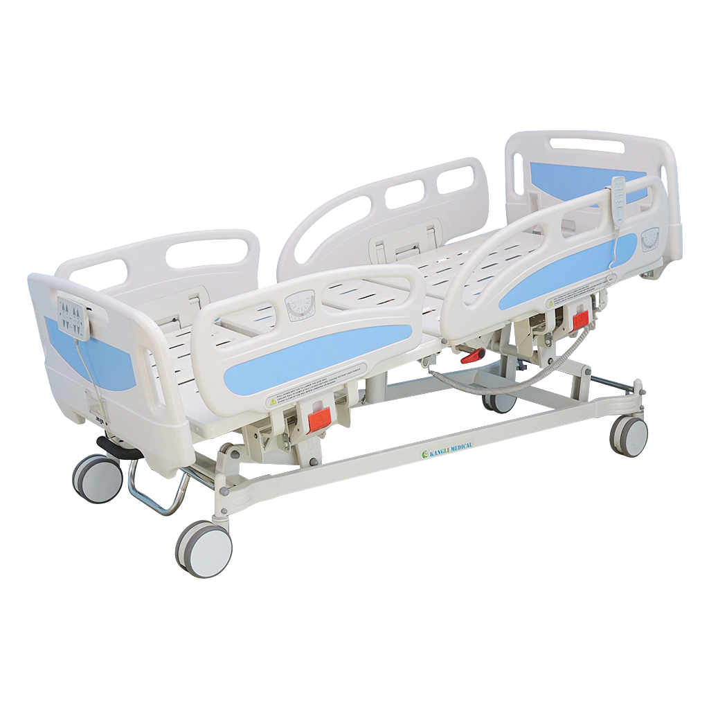 Trendelenburg hospital beds reverse adjustment