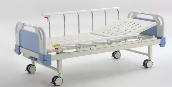 one crank hospital bed in stocks