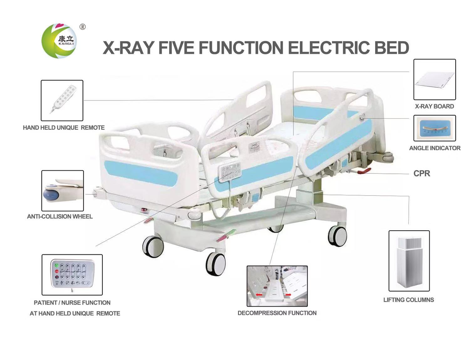 paramount electric hospital bed specification