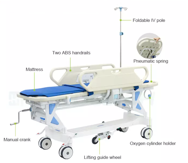 transfer patient bed specification